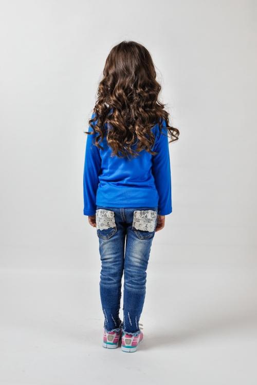 Кофта-футболка для девочки A6 Co Mini Wind