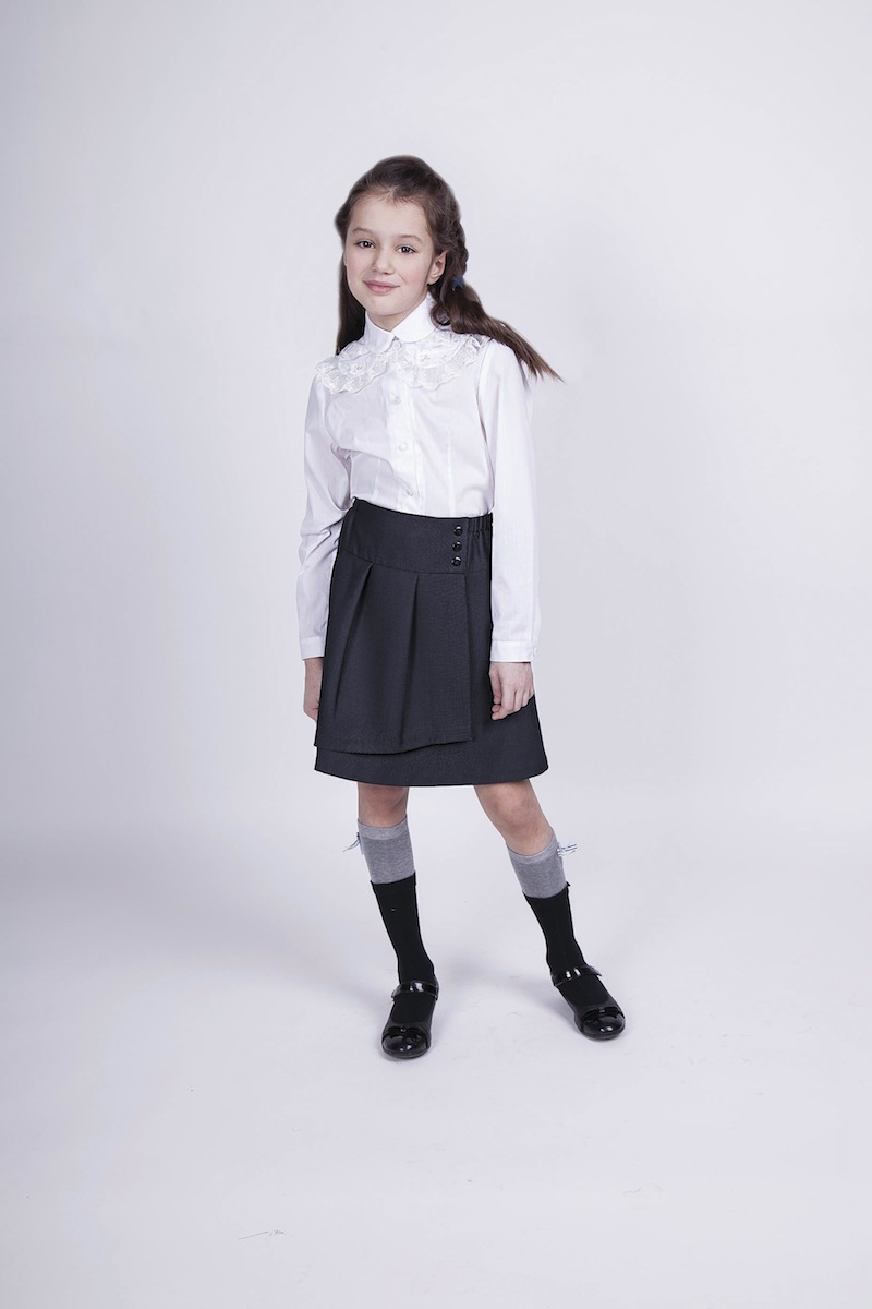 Блузка Школьная Карамелли Купить