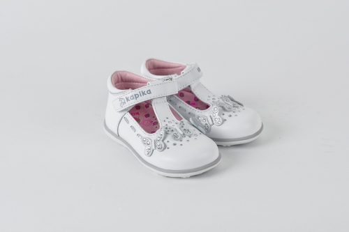 Туфли ясельные для девочек Kapika