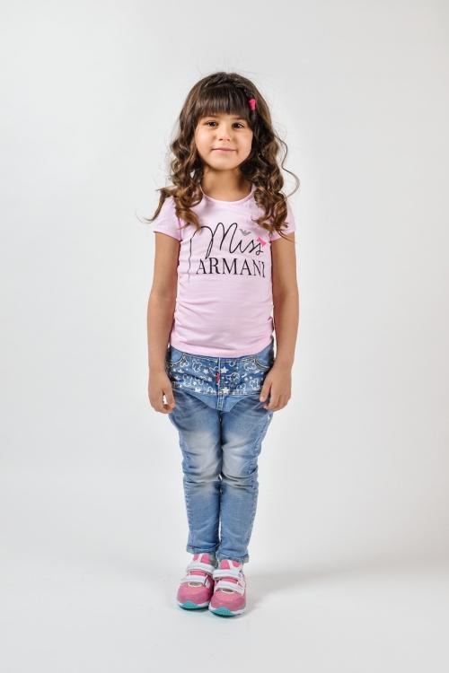 Футболка для девочки Armani Junior